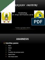 RSPAD Gatot Soebroto_Pemeriksaan Obstetri