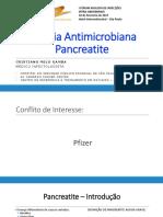 Terapia Antimicrobiana Pre-emptiva Na Pancreatite