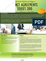 Tenancy Agreements and Leases 2010