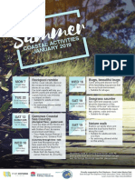 Port Stephens Council 2019 summer coastal activities program