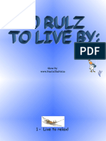 10 Rulz to Live