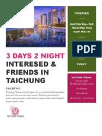 3 Days 2 Night Taichung _ Victoria