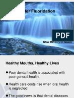 Water Fluoridation Presentation