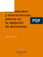 Incertidumbre y Neurociencias 1