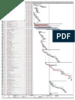 Programacion de Obra Diagrama de Gantt