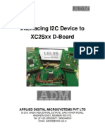 I2C Interfacing to XC3S400 FPGA