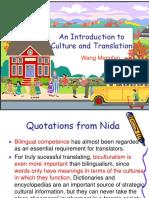 Culture & Translation 20181228