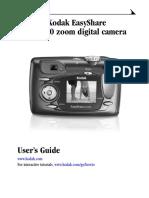 Kodak EasyShare DX4530 Digital Camera Users Guide