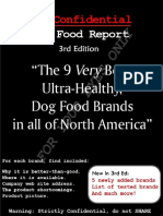 Confidential Dogfood Report 3 Rd Ed