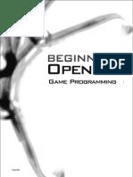 Programming beginning pdf game opengl