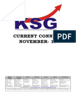 November 2018, Current Connect, KSG India