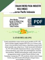 PPT Sistem Penyediaan Energi PT. Chevron Pacific Indonesia Kelompok III-Teknik Kimia S1 C 2015.pptx