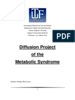 Diffusion Project of the Metabolic Syndrome