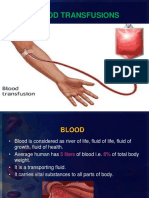 Blood Transfusion Final PPT