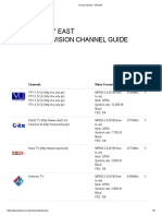 Channel Guide - PAKSAT