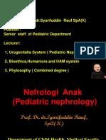 5. Sindrom Nefrotik & GNAPS (Prof.syarifuddin Rauf)