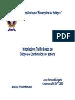 Actions on Bridges