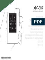 Pioneer XDP- 30R Manual
