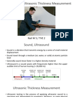 Introduction to Ultrasonic Thickness Measurement