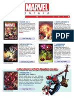 Novedades Panini Marvel enero 2019