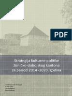 Strategija Kulturne Politike ZDK 2014 2020