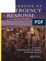[Industrial Innovation Series] Adedeji B. Badiru, LeeAnn Racz - Handbook of Emergency Response_ a Human Factors and Systems Engineering Approach (2013, CRC Press)