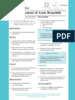 Bronchitis Guideline