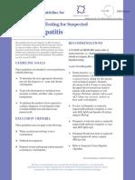 Hepatitis Guideline