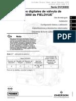 Dvc 6000 de Fieldvue en Español