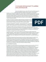 Globalización y Economía Internacional