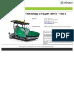 SUPER-1800 Training Machine Technology En