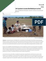 Un Bebé de Vanuatu Recibe La Primera Vacuna Distribuida Por Un Dron _ Blog Mundo Global _ EL PAÍS
