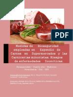 Bioseguridad en carnicerias