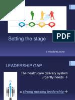 Gaps and Leadership