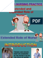 Expanded Role of Nurses