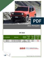 Fisa Jeep Renegade MY2018 - Mai 2018