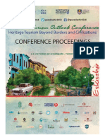 Proceedings of the 11th Tourism Outlook Conference, 2 - 5 Octobre, 2018