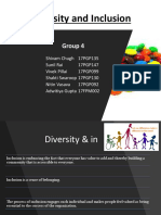 Diversity and Inclusion Group 4