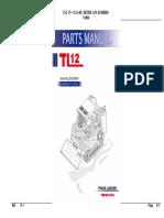Takeuchi Tl12 (P-tl12-Ad) Crawler Loader Parts Manual