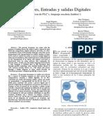 Comparadores, Entradas y salidas Digitales (Automatización industrial)