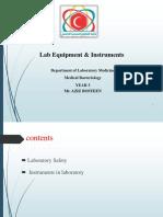 Lab Equipment & Instruments