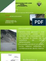 Determinacion de Angulos de Talud en El Macizo Rocoso