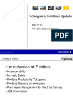 Yokogawa Update on Fieldbus Offering