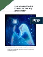 Profeții Despre Steaua Albastră Extrase Din Cartea Lui Tom Kay