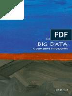 Big Data A Very Short Introduction.epub