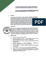 Directiva Sobre Escena Del Delito y Cadena de Custodia