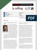 Brussels calling, Belgian EU Presidency, Business Newsletter, 04/10/2010, Issue 4