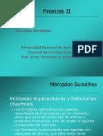 Finanzas II UNA Unidad I Mercados Bursatiles