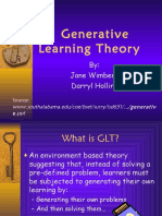 Generative Learnimg Theory