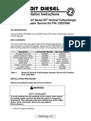 18SP642 | Turbocompresor | Tuerca (Ferretería)